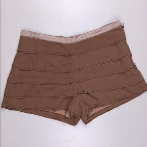 Kali I Beaded Shorts W/ Sheer Overlay Size Medium